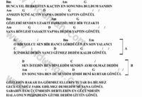 Gonul (F.Kizilok)-Gitar-Ritim-Akorlari