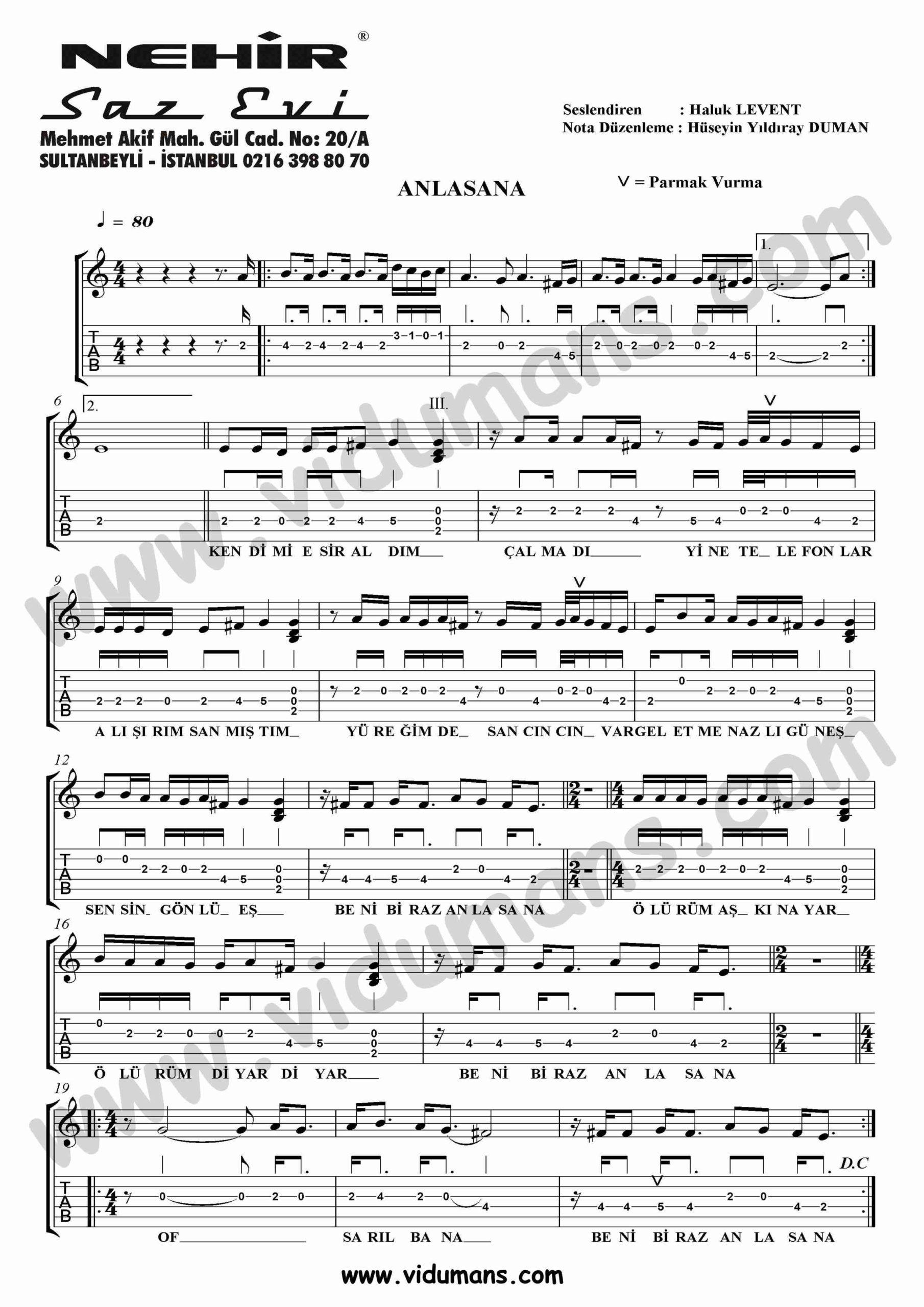 Anlasana-Gitar-Tab-Solo-Notalari