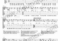 Dere Geliyor-Gitar-Tab-Solo-Notalari