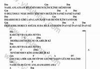 Kara Sevda-Gitar-Ritim-Akorlari