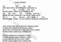 Kara Toprak-Gitar-Ritim-Akorlari