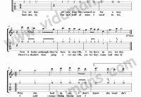 Yesterday-Gitar-Tab-Solo-Notalari