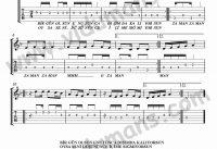 Zaman Zaman-Gitar-Tab-Solo-Notalari