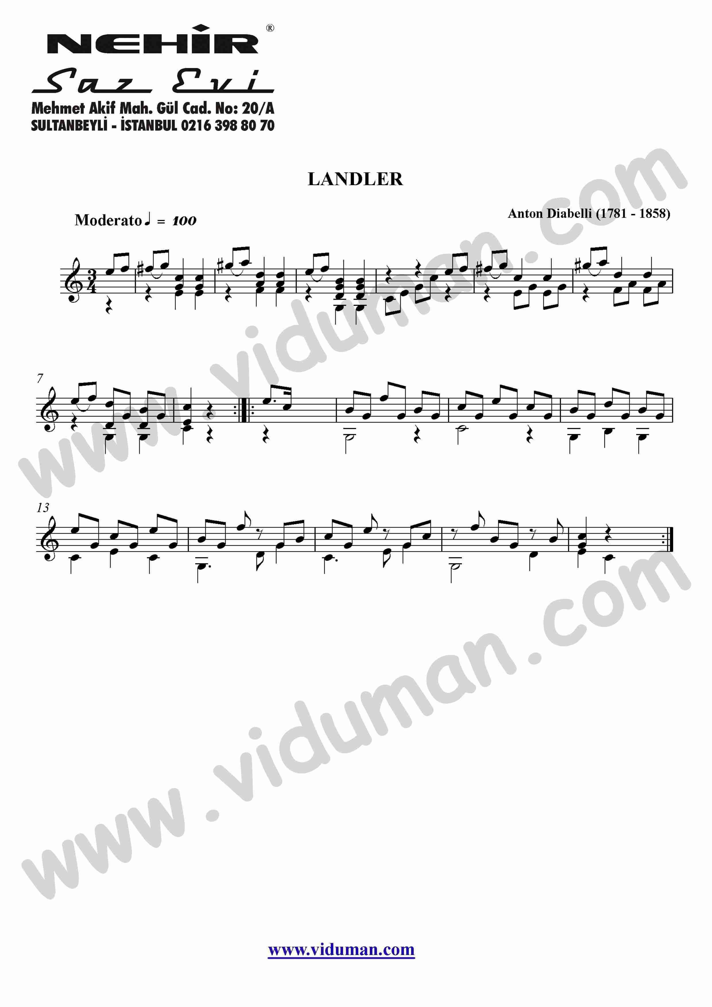 19- Landler (Anton Diabell)