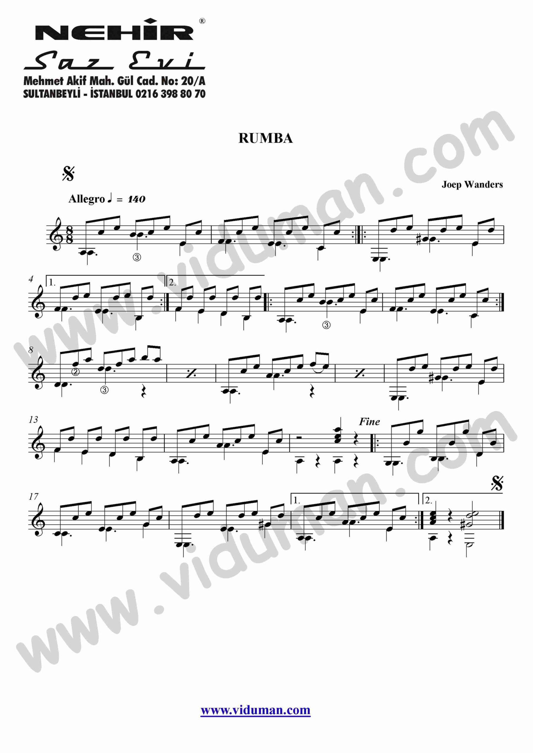 29- Rumba (Joep Wanders)