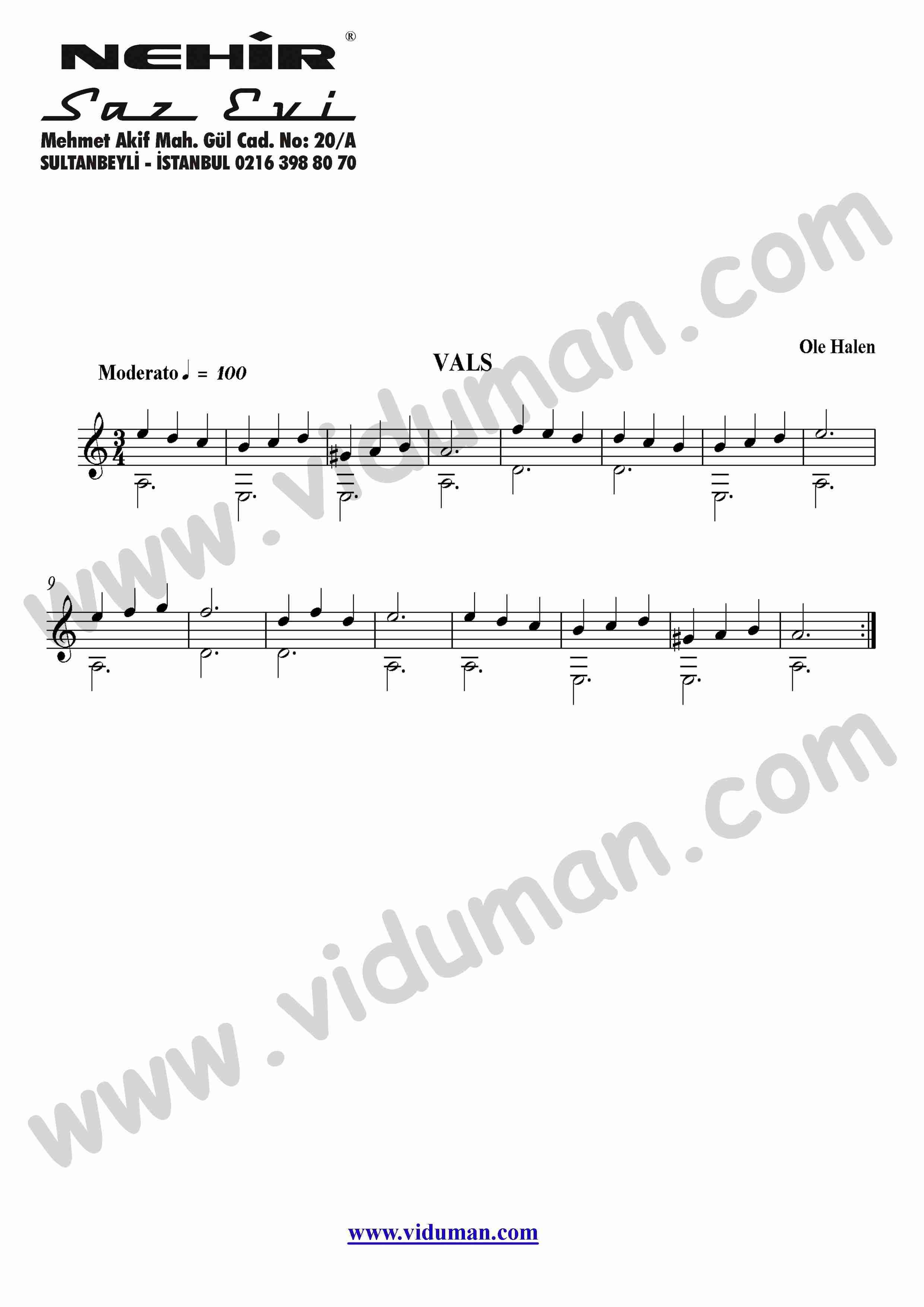 3- Vals (Ole Halen)