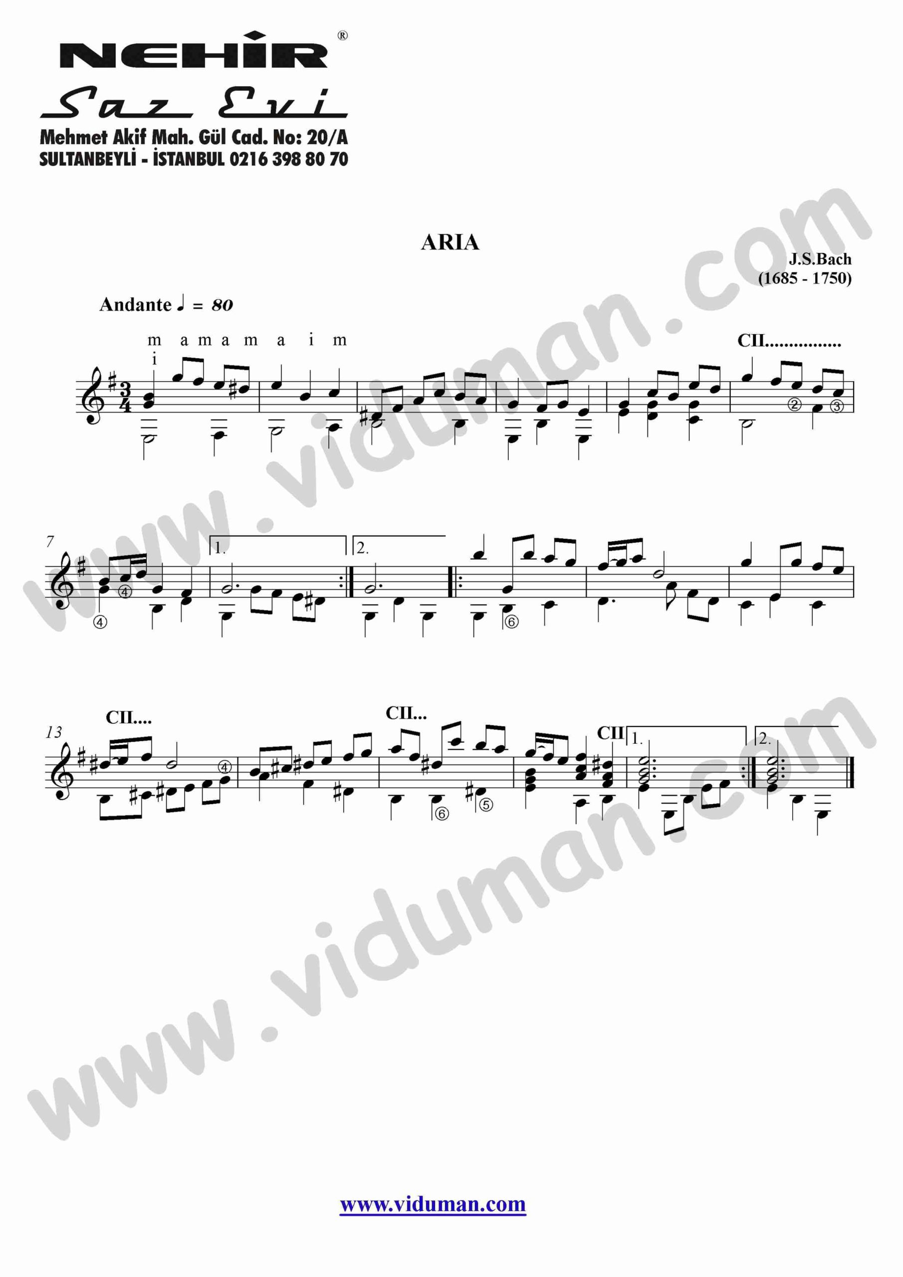 52- Aria (J.S.Bach)