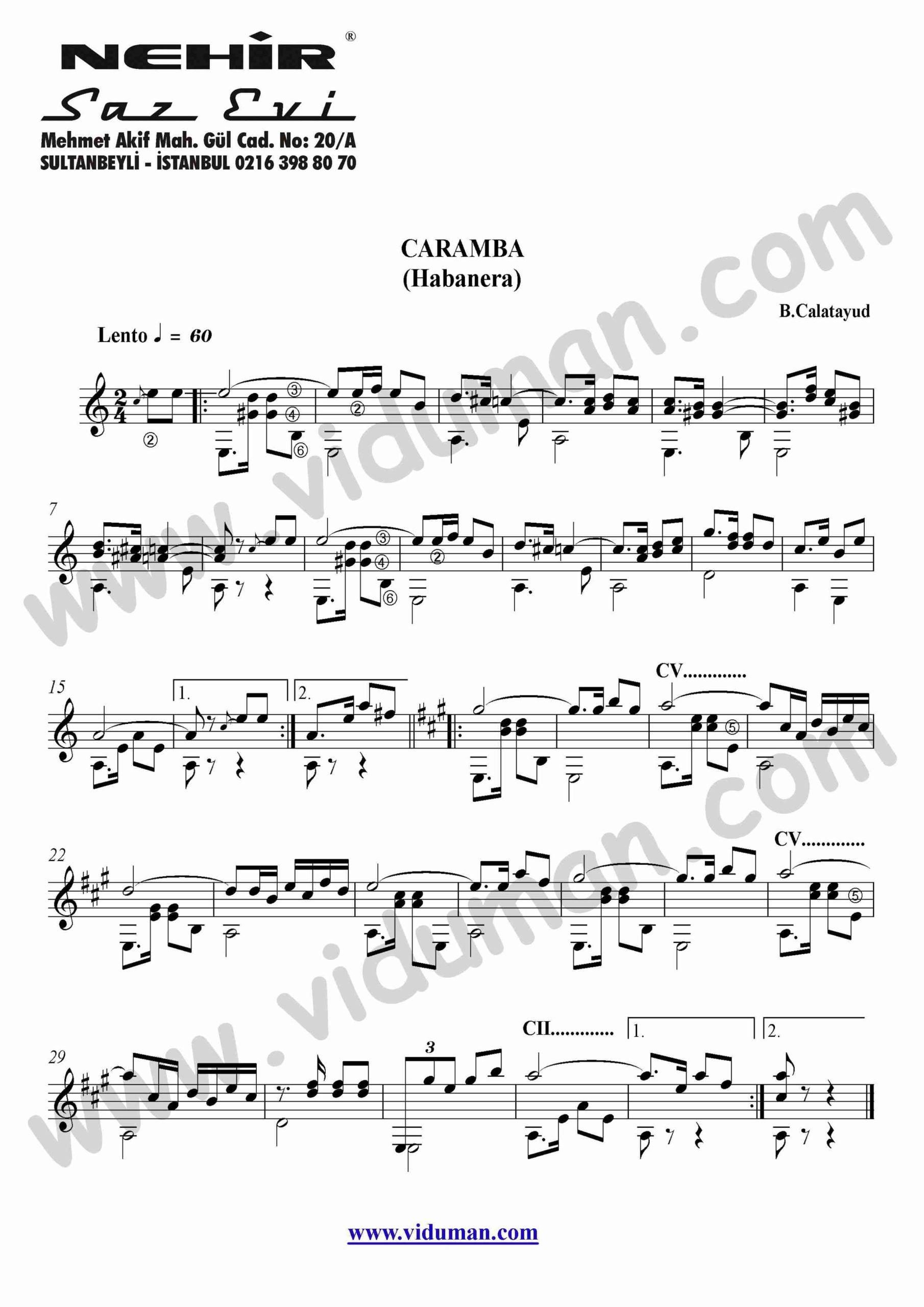 79- Caramba-Habanera (B.Calatayud)