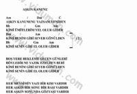 Askin Kanununu-Gitar-Ritim-Akorlari