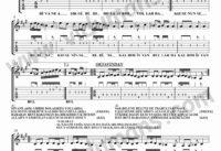 Divane Asik Gibi-Gitar-Tab-Solo-Notalari