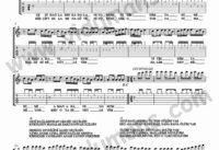 Gesi Baglari-Gitar-Tab-Solo-Notalari
