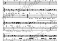 Hani O Birakip-Gitar-Tab-Solo-Notalari