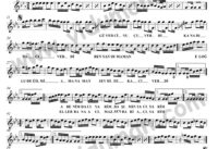 Guvercin Ucuverdi (Misget) Sol-Baglama-Saz-Notalari