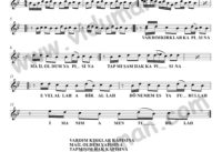 Vardim Kirklar Kapisina-Baglama-Saz-Turku-Notalari