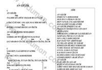 An Gelir-Ahmet Kaya-Ritim Gitar Akorlari