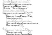 Basim Belada-Ahmet Kaya-Ritim Gitar Akorlari