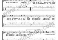 Sana Gelmek Istiyorum_1-Ahmet Kaya-Gitar Tab-Solo Notalari